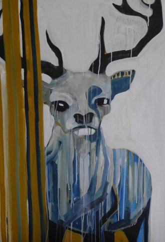 Feral stag