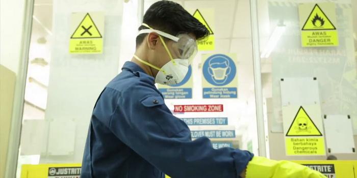 pelatihan petugas k3 kimia