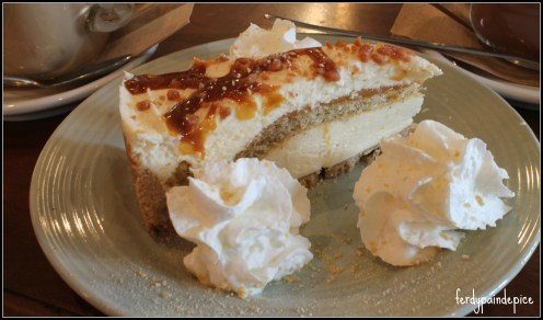 caravane cafe cheesecake dolce