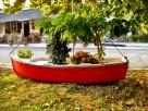 Αυτή η βάρκα βρίσκεται σε ενα πάρκο του Αγίου Γεωργίου. Μεσα την στολίζουν όμορφα λουλουδια,γύρω από αυτήν υπάρχουν μερικά λαμπάκια που το βράδυ ανάβουν.Στην κορυφή υπάρχει μια ελληνική σημαία.