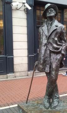 Statuia lui James Joyce, Foto @ Anca Stan