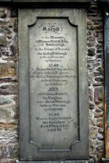Mormântul lui Tom Riddel