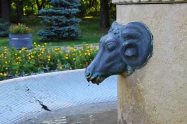 Modura Fountain detail