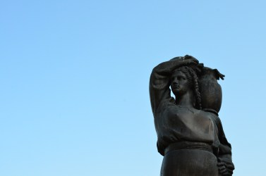 Modura Fountain statue