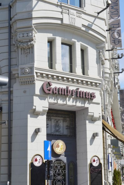 The new Gambrinus beer house