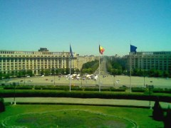 View from the Palace of Parliament