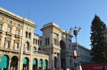 Galleria Vittorio Emanuele II - intrarea