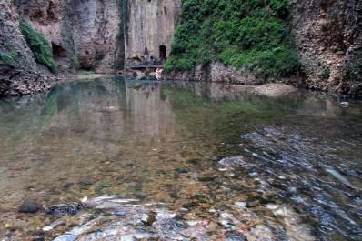 Guadalevín, râul de lapte