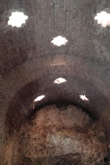Băile romane (interior)