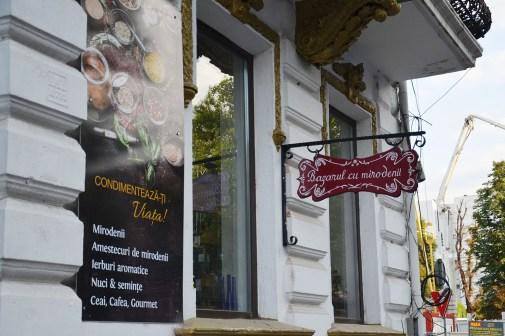 Spice & herb shop on Dorobanți Street