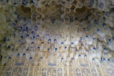 Alhambra - detaliu al tavanului