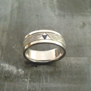 custom legend of zelda wedding band