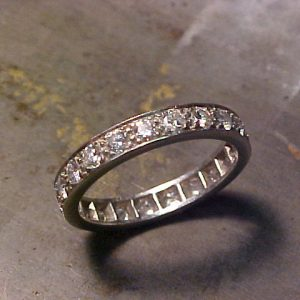 custom diamond wedding ring