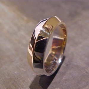 custom white gold wedding ring
