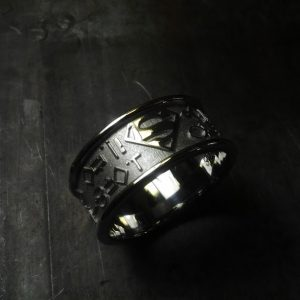Kryptonian wedding band