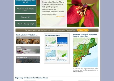 3. North Atlantic Landscape Conservation Cooperative (NALCC) Conservation Planning Atlas (CPA)
