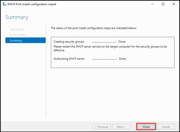 Windows Server 2019 DHCP Failover Yapılandırılması