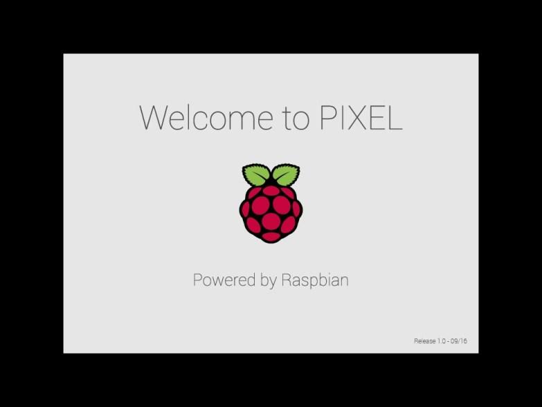 Ekran startowy nakładki PIXEL