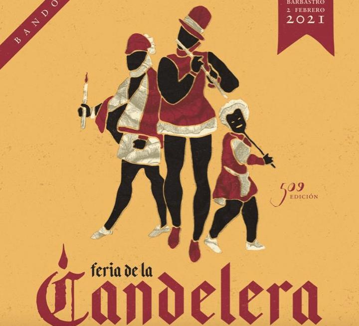Barbastro celebra su tradicional Candelera