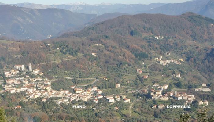 Utsikt Loppeglia Fiano