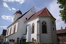Die schöne Pfarrkirche in Finsterwalde