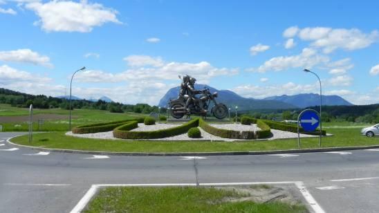 Die Harley Davidson Statue