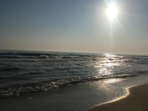 Strand, Sonnenaufgang