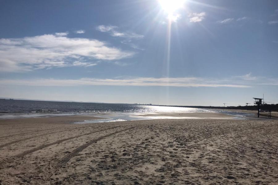 Usedom - Strand zu Corona-Zeiten