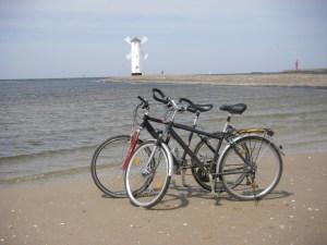 Mühle, Swinemünde, Fahrrad, Strand