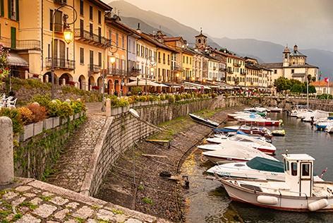 Cannobio Lago Maggiore © Maggioni Tourist Marketing