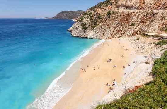 Kaputas Beach © Türkei Tourismus