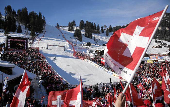 FIS Ski Weltcup Adelboden