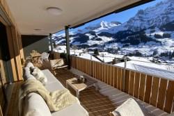 Balkon-Ferienwohnung-Alpenrose-Adelboden