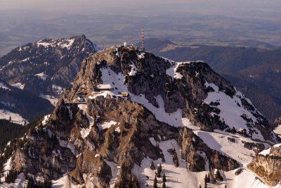 Wetterstation und Bergstation der Zahnradbahn