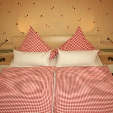 Ferienwohnung mit Doppelbett für Verheiratete