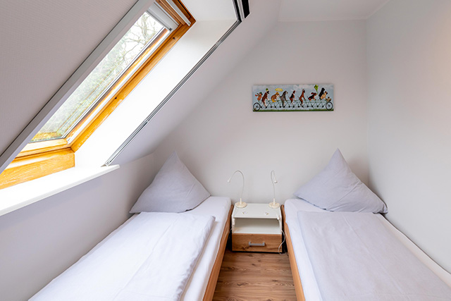 Ferienwohnung Fehmarn Kinderzimmer 2 Betten