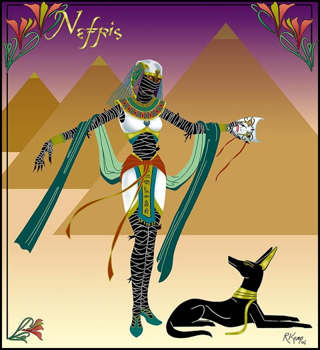 Nefris - Egyptian mummy queen