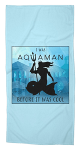 Aquaman Triton Beach Towel