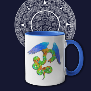 Aztec Angel Coffee Mug
