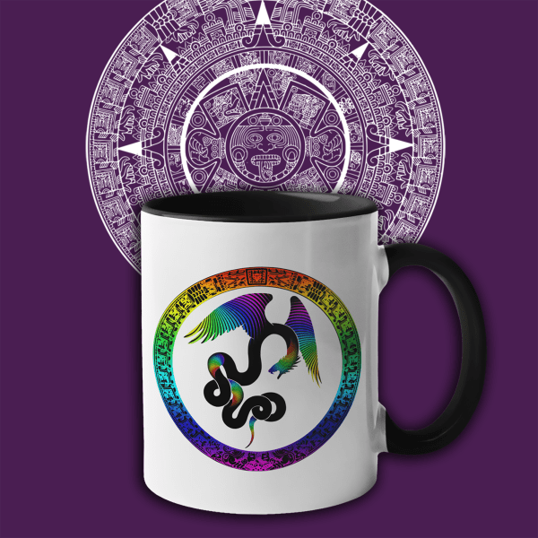 Aztec Dreams Accent Mugs