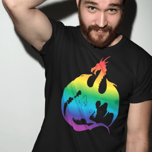Rainbow Dragon T-Shirts