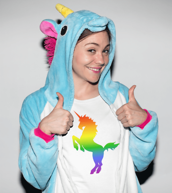 Rainbow Unicorn T-shirt