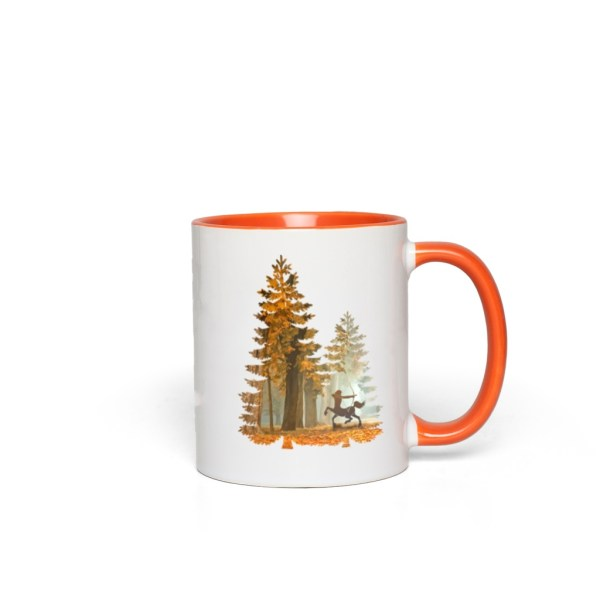 Mystic Hunter Centaur - orange accent mug