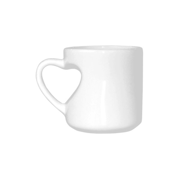 My Favorute Breed is Adopted - Heart shaped mug