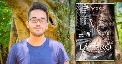 Lazaro - Lançamento de livro em São Paulo: Lázaro - A Maldição dos Mortos