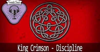 43283057 Blue checkered tablecloth on wooden table Stock Photo wood - Fermata Tracks #12 - King Crimson - Discipline