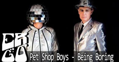 Vitrine Pet Shop Boys   Being Boring - Ergo #022 - Pet Shop Boys - Being Boring