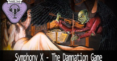 Vitrine SymphonyX - Fermata Tracks #128 - Symphony X - The Damnation Game