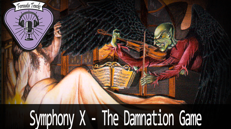 Vitrine SymphonyX - Fermata Tracks #128 - Symphony X - The Damnation Game