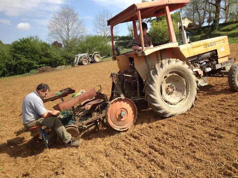 tracteur ferme de berdin Banos